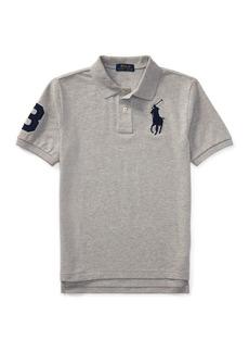 Ralph Lauren Childrenswear Big Pony Mesh Knit Polo  Size S-XL