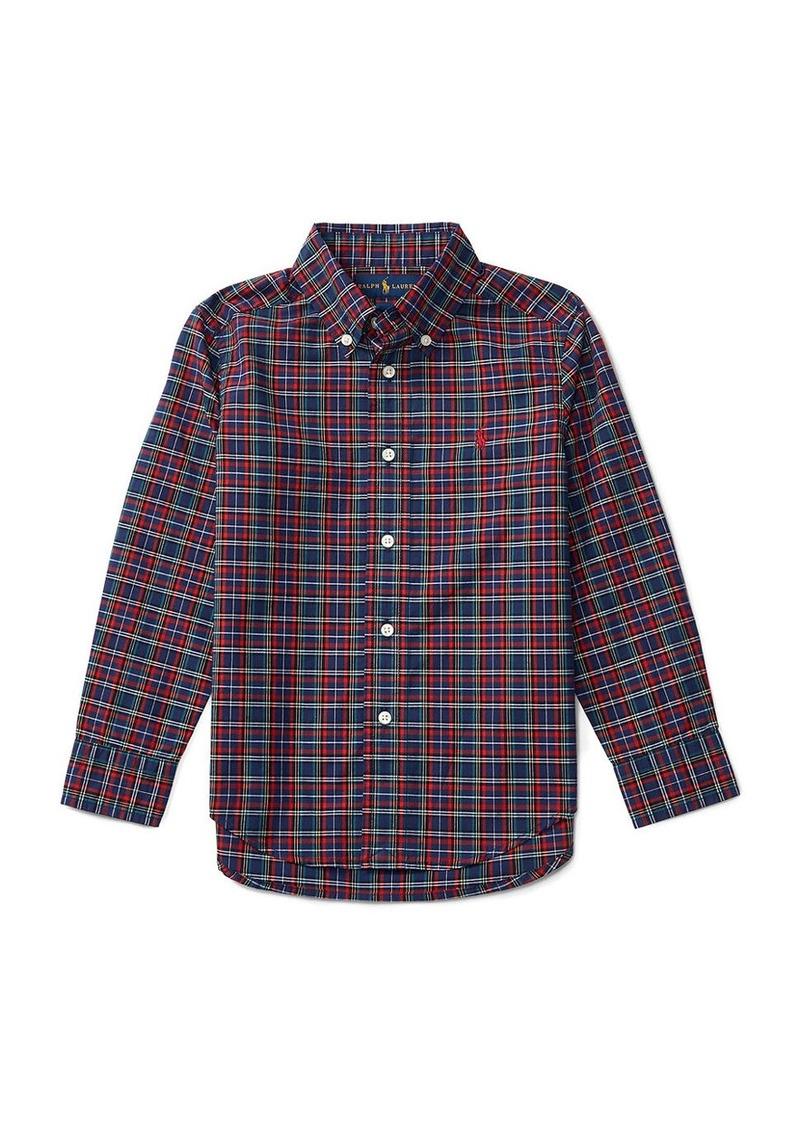 RALPH LAUREN CHILDRENSWEAR Boys 2-7 Toddler's, Little Boy's & Boy's Plaid Shirt