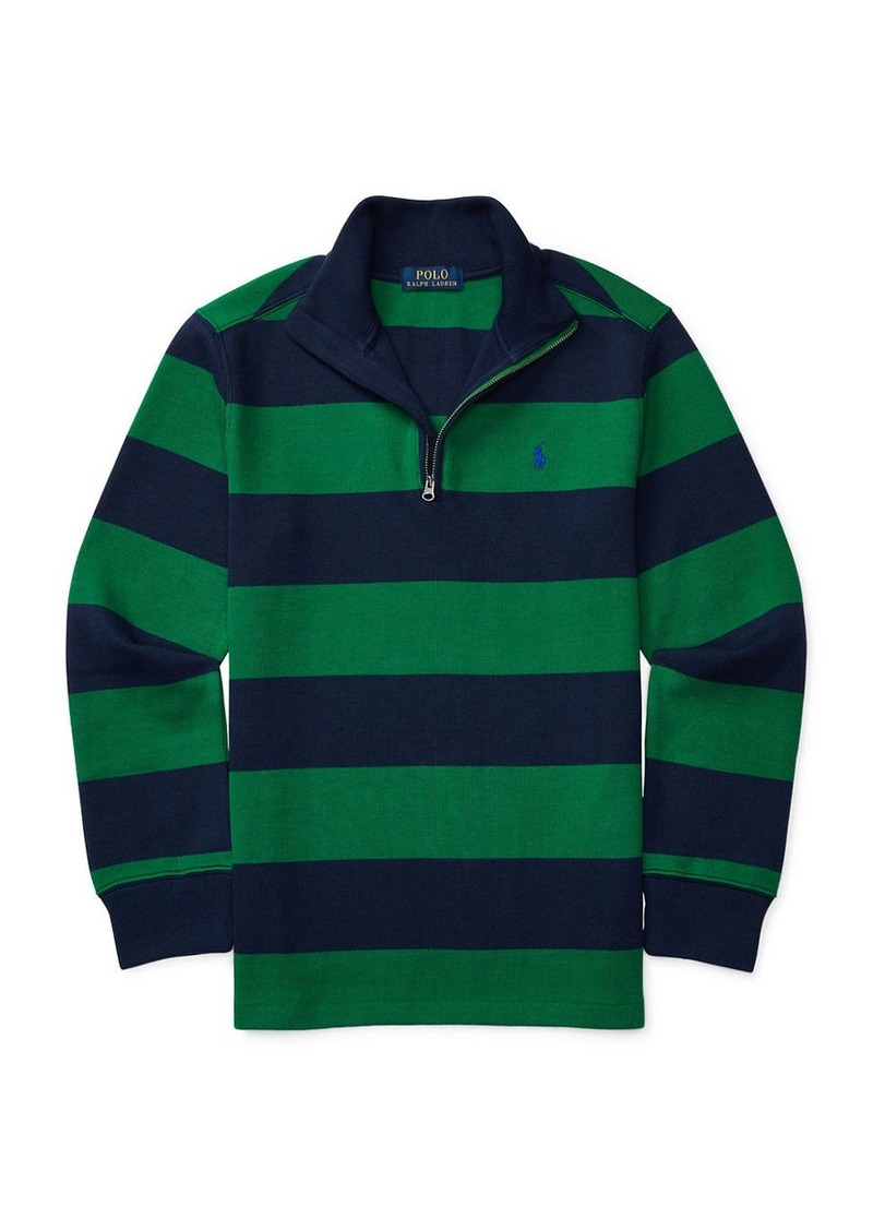 RALPH LAUREN CHILDRENSWEAR Boys 8-20 Boys Striped Sweatshirt