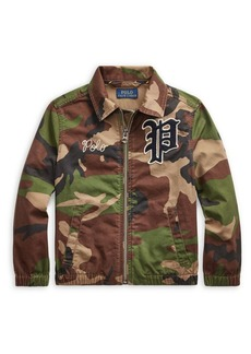 Ralph Lauren Childrenswear Little Boy's Bayport Camo Windbreaker