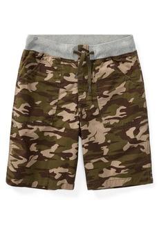 Ralph Lauren Childrenswear Boy's Camouflage Cotton Cargo Shorts