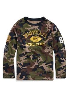 Ralph Lauren Childrenswear Boy's Camouflage Cotton Jersey Tee
