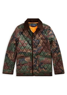 Ralph Lauren Childrenswear Boy's Camo Quilted Jacket