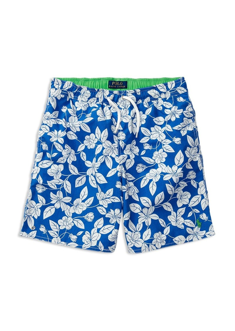 Ralph Lauren Childrenswear Boys' Captiva Floral Swim Trunks - Sizes S-XL