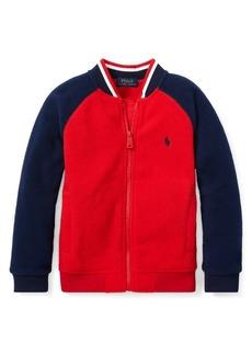 Ralph Lauren Childrenswear Boy's Colorblock Fleece Bomber Jacket