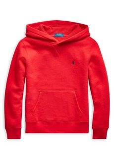 Ralph Lauren Childrenswear Boy's Cotton-Blend Fleece Hoodie