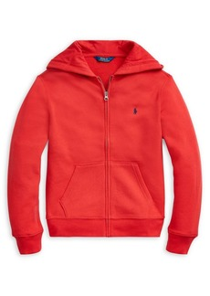 Ralph Lauren Childrenswear Boy's Cotton-Blend-Fleece Hoodie