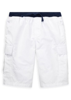 Ralph Lauren Childrenswear Boy's Cotton Cargo Shorts