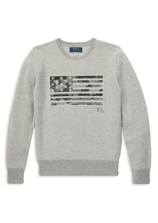 Ralph Lauren Childrenswear Boy's Cotton Graphic Knit