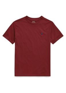 Ralph Lauren Childrenswear Boy's Cotton Jersey Crewneck Tee