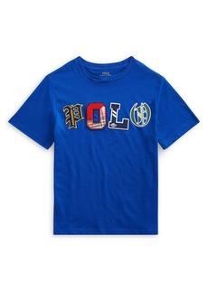 Ralph Lauren Childrenswear Boy's Cotton Jersey Logo Tee