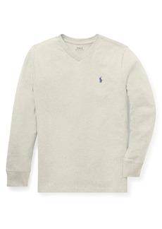 Ralph Lauren Childrenswear Boy's Cotton Jersey Long-Sleeve Tee
