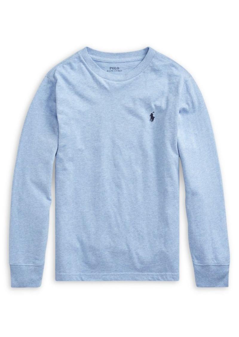 Ralph Lauren Childrenswear Boy's Cotton Long-Sleeve Tee