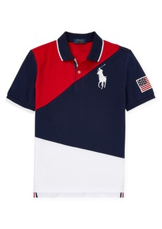 Ralph Lauren Childrenswear Little Boy's & Boy's Cotton Mesh Polo Shirt