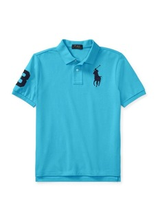 Ralph Lauren Childrenswear Boy's Cotton Mesh Polo Shirt
