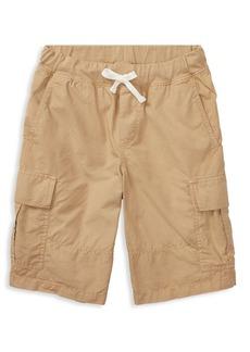 Ralph Lauren Childrenswear Boy's Cotton Ripstop Cargo Short
