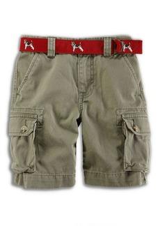 Ralph Lauren Childrenswear Boy's Cotton Twill Cargo Shorts
