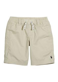 Ralph Lauren Childrenswear Boy's Cotton Twill Drawstring Shorts  Size 5-7