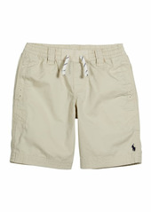 Ralph Lauren Childrenswear Boy's Cotton Twill Drawstring Shorts  Size 5-7