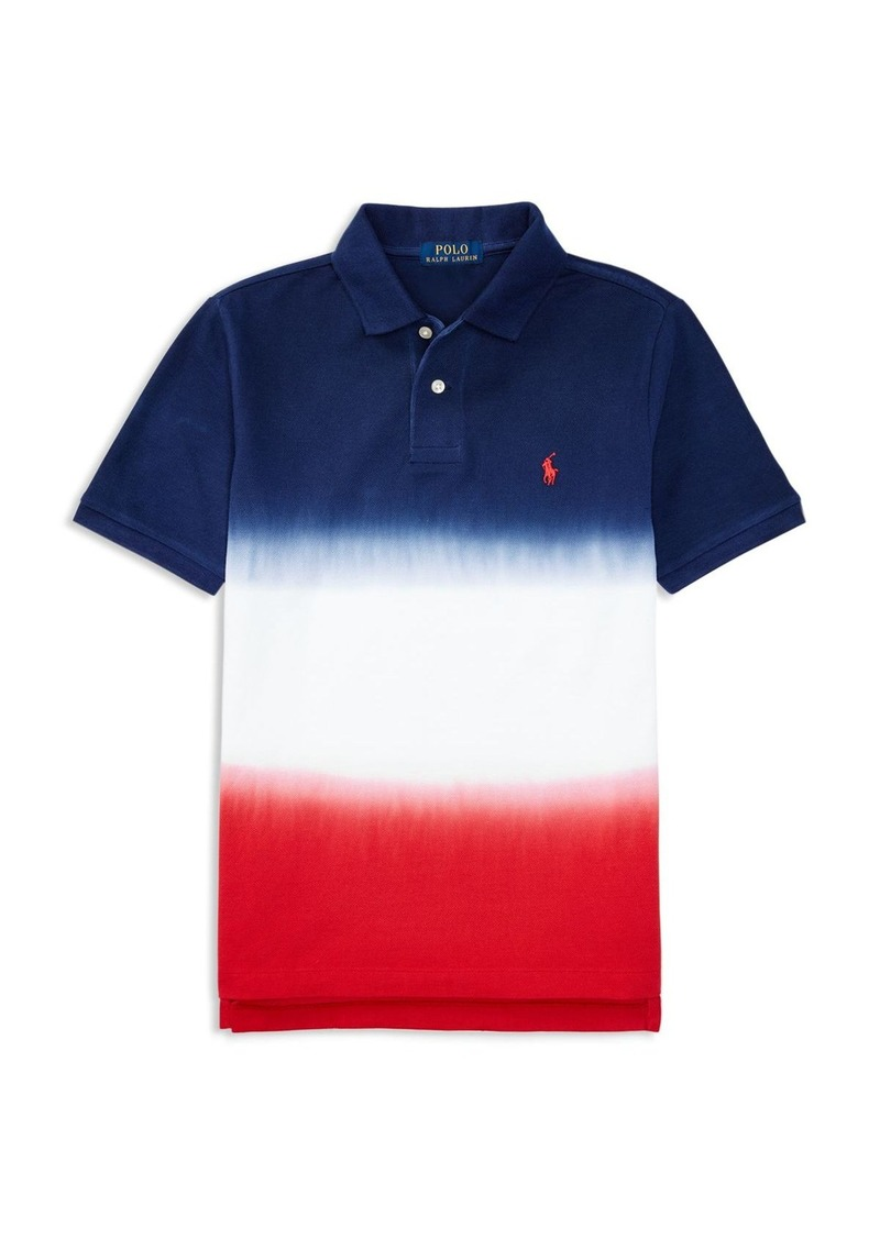 b22b94a4 Ralph Lauren Ralph Lauren Childrenswear Boys' Dip Dyed Polo Shirt ...
