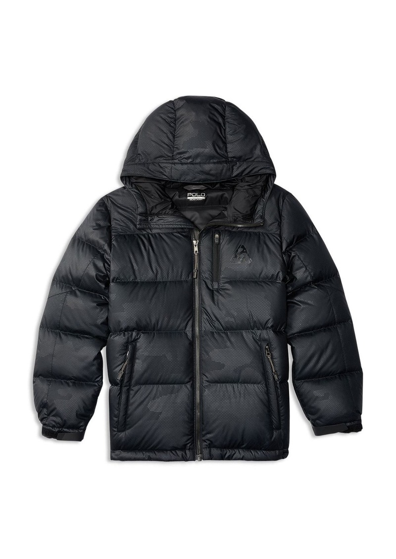 Ralph Lauren Childrenswear Boys' Down Filled Rip Stop Jacket - Sizes S-XL