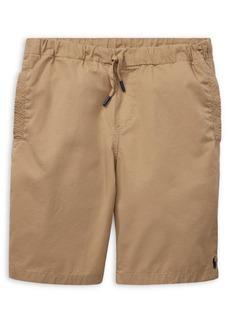 Ralph Lauren Childrenswear Boy's Drawstring Cotton Shorts