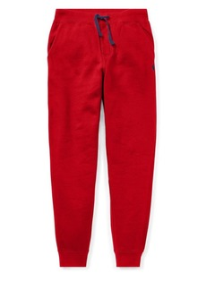 Ralph Lauren Childrenswear Boy's Drawstring Fleece Jogger Pants