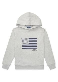 Ralph Lauren Childrenswear Boy's Flag Hoodie