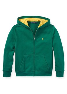 Ralph Lauren Childrenswear Boy's Full-Zip Fleece Hoodie
