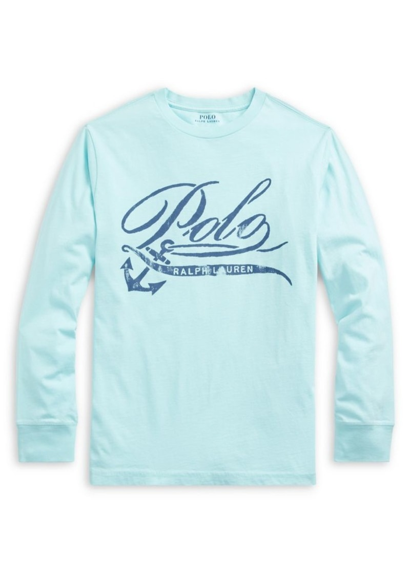 Ralph Lauren Childrenswear Boy's Graphic Cotton Jersey Tee