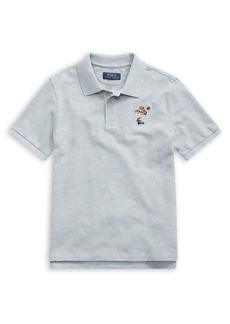 Ralph Lauren Childrenswear Little Boy's & Boy's Graphic Cotton Mesh Polo