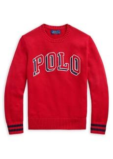 Ralph Lauren Childrenswear Boy's Graphic Cotton Sweater
