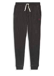 Ralph Lauren Childrenswear Boy's Heathered Fleece Joggers