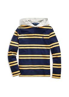 Ralph Lauren Childrenswear Boy's Hooded Cotton Tee