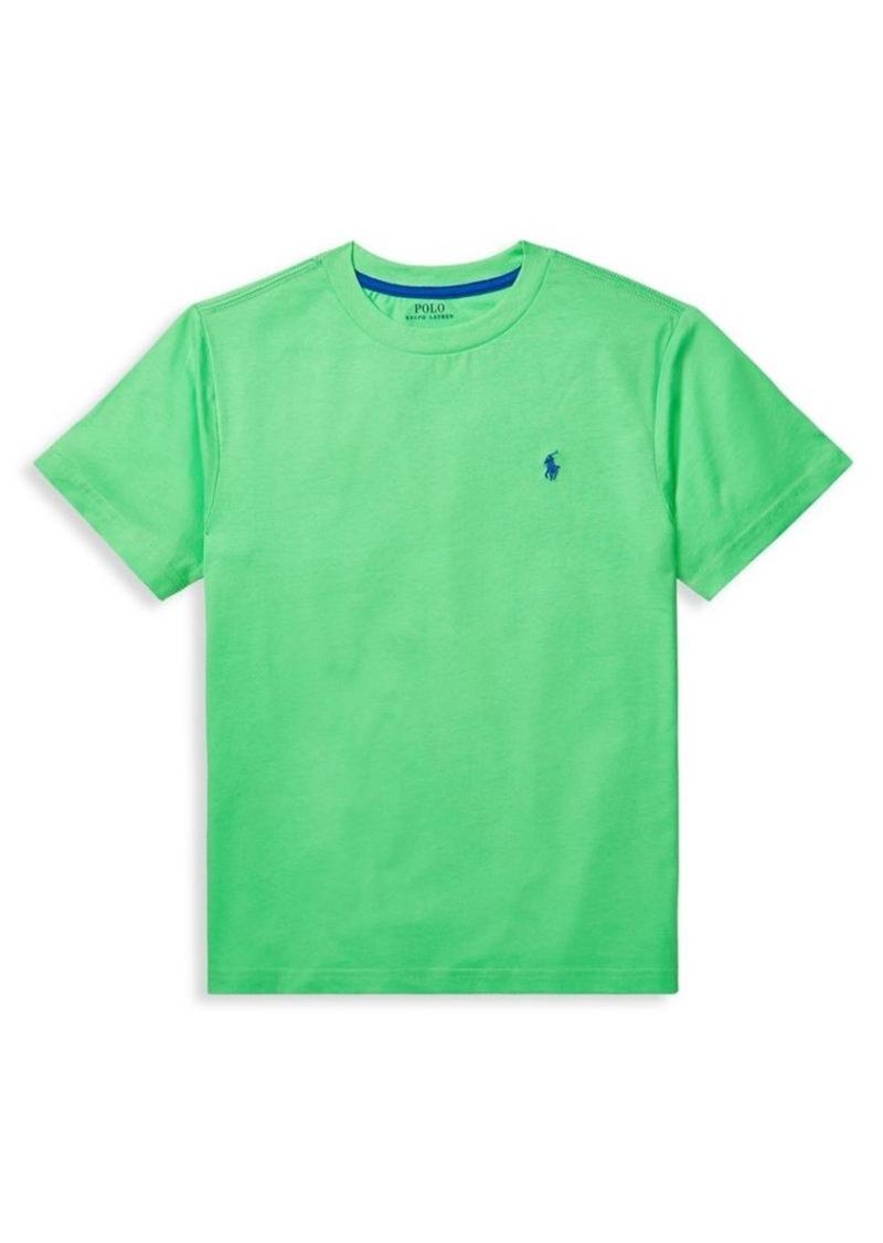 Ralph Lauren Childrenswear Boy's Jersey Cotton T-Shirt