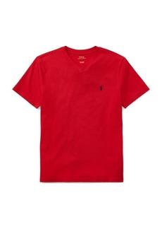 Ralph Lauren Childrenswear Boys Jersey Cotton V-Neck Tee