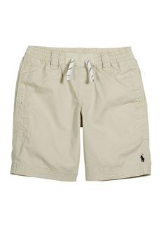 Ralph Lauren Childrenswear Boy's Logo Embroidered Drawstring Shorts  Size 2-4
