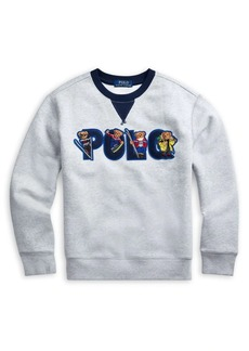 Ralph Lauren Childrenswear Boy's Logo Fleece Sweatshirt