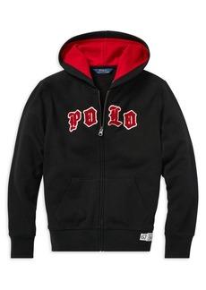 Ralph Lauren Childrenswear Boy's Logo Zip Hoodie