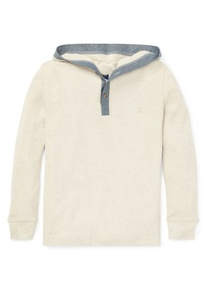 Ralph Lauren Childrenswear Boy's Long-Sleeve Cotton Hoodie
