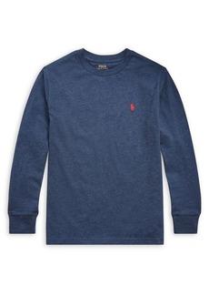 Ralph Lauren Childrenswear Boy's Long-Sleeve Cotton Jersey Tee