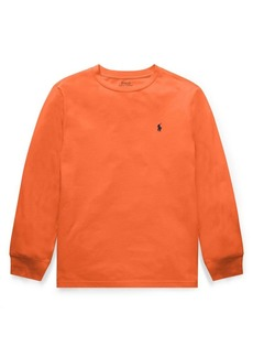 Ralph Lauren Childrenswear Boy's Long-Sleeve Cotton Jersey Tee