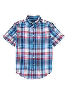 Ralph Lauren Childrenswear Boy's Madras Button-Down Shirt