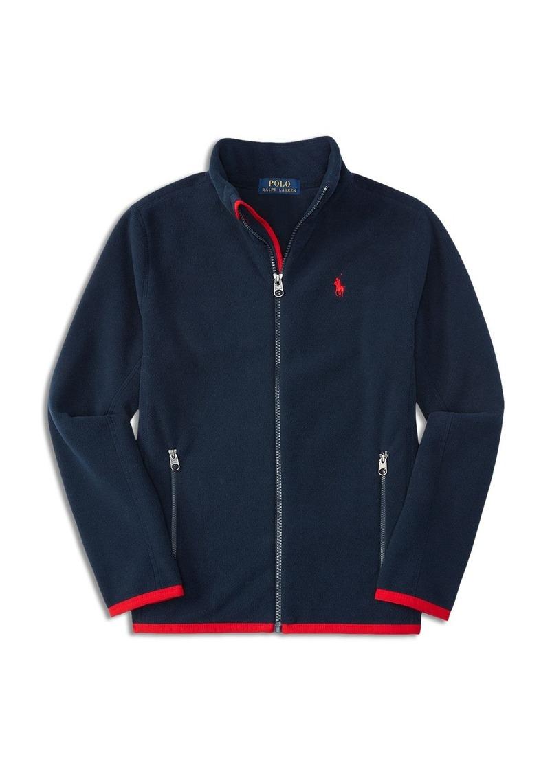 Ralph Lauren Childrenswear Boys' Micro Fleece Jacket - Sizes S-XL