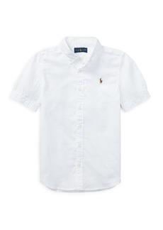 Ralph Lauren Childrenswear Boy's Oxford Cotton Button-Down Shirt