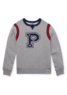 Ralph Lauren Childrenswear Boy's P Patch Sweatshirt