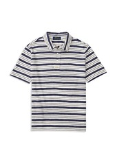 Ralph Lauren Childrenswear Boys' Slubbed Striped Jersey Polo Shirt - Sizes S-XL