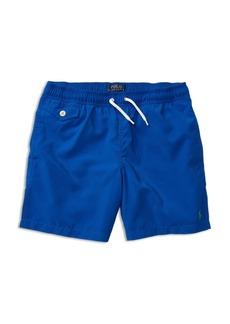 Ralph Lauren Childrenswear Boys' Solid Swim Trunks - Sizes S-XL