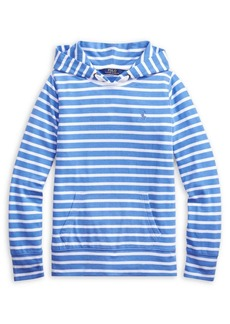 Ralph Lauren Childrenswear Boy's Striped Cotton-Blend Hoodie