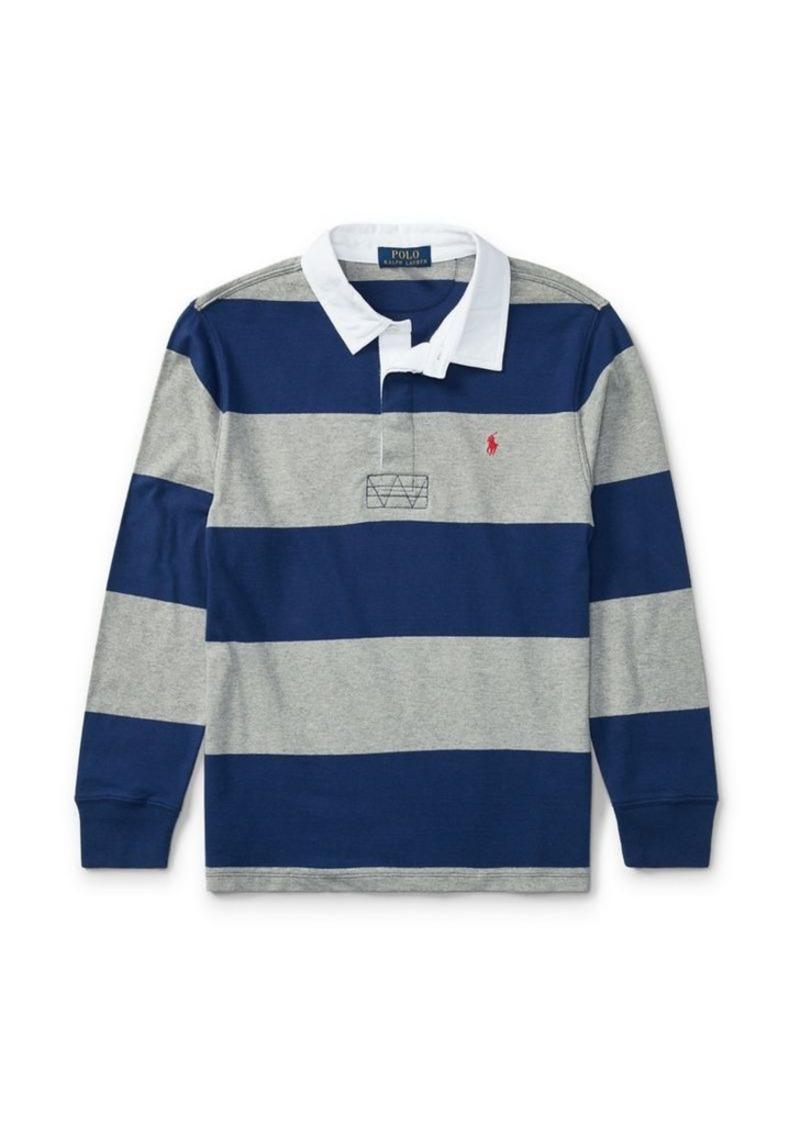 aef76ef3a9f Ralph Lauren Ralph Lauren Childrenswear Boys Striped Cotton Jersey ...